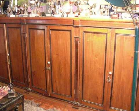 Muebles antiguos 2 se venden para biblioteca de madera - Muebles antiguos de madera ...