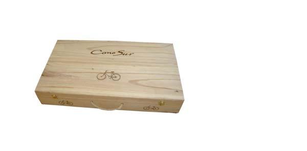 Cajas de madera para vinos y regalos corporativos - Cajas de madera para regalo ...