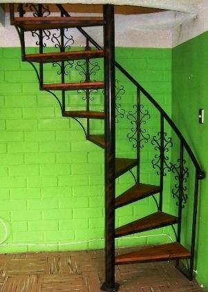 Escaleras economicas barandillas y escaleras de madera forja hierro acero inoxidable y cristal - Escaleras de caracol economicas ...