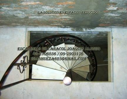 Escaleras de caracol economicas santiago fotos for Ver escaleras de caracol