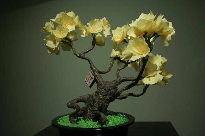 Vendo bonsais artificiales hechos en papel for Bonsai vendo