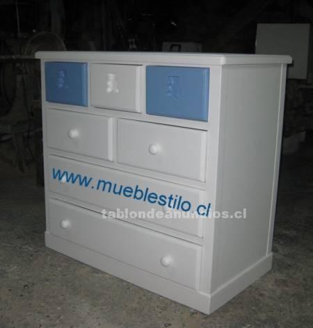 Muebles para el cuarto del beb c modas cajoneras - Muebles cajoneras comodas ...