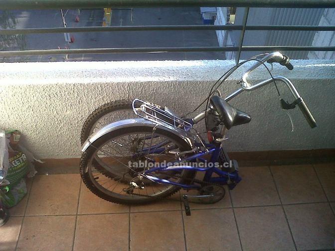 Foto Bicicleta plegable, aro 24 con 6 cambios. oferta!