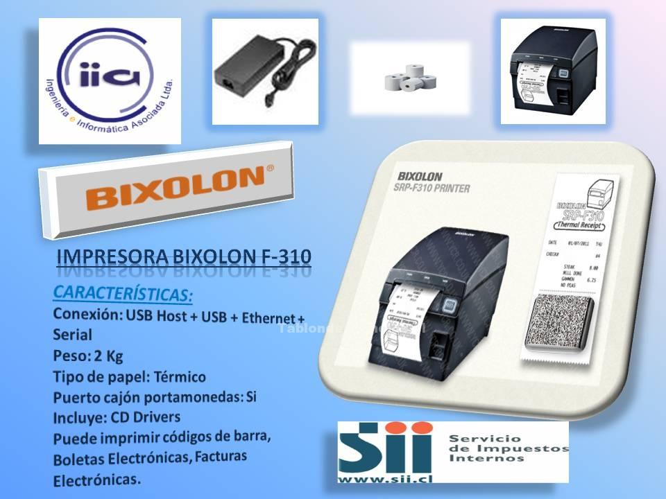 Foto Bixolon f310 impresora de boletas y facturas electrónicas