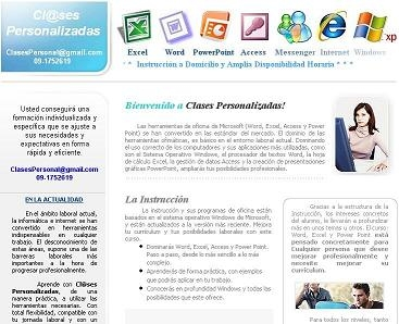 Foto Clases particulares word, excel, powerpoint, access e internet