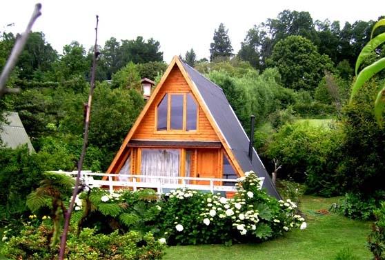 Foto Hermosa cabaña en calafquén a 1 cuadra del lago