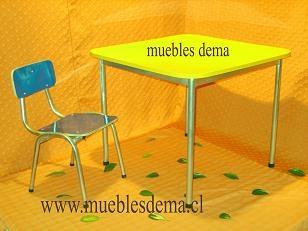 Foto Fabicacion de muebles escolares:universidades, instituciones, casinos, coorporaciones, colegios.
