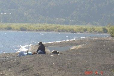 Foto Campo con playa en pucon