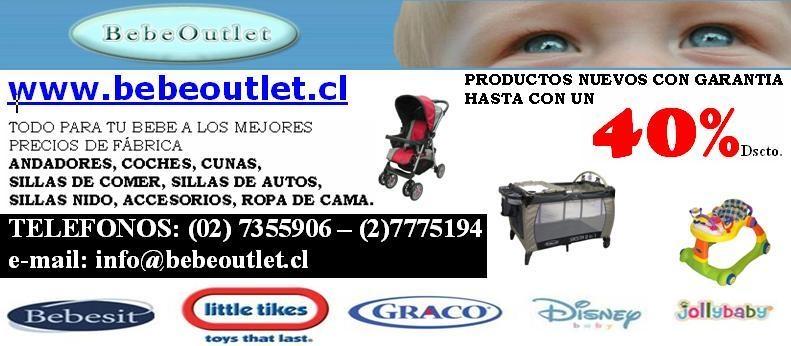 Foto Bebe outlet, lo mejor para tu bebe al mejor precio