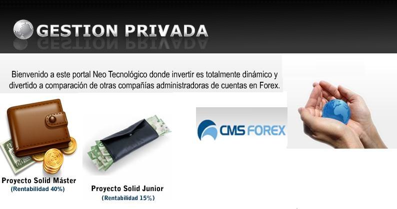 Foto Gestión privada, es la mejor manera de invertir en el mercado de divisas