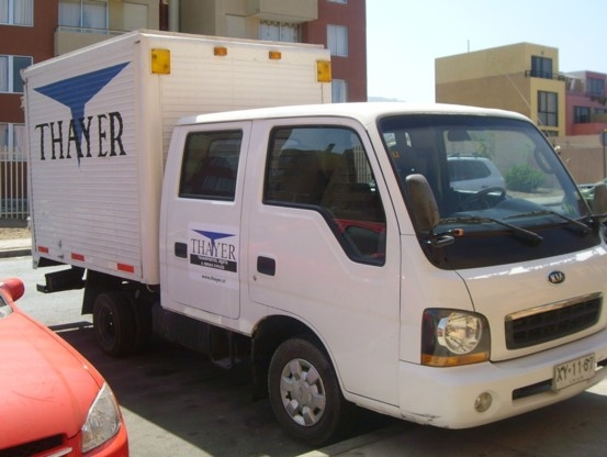 Foto Kia frontier 2004, doble cabina, carrozado
