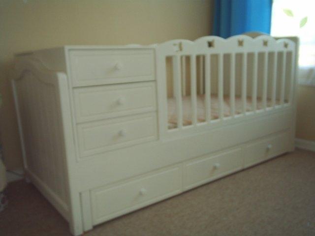 Muebles para bebé, cunas mudadores, solo madera | Tablondeanuncios.cl