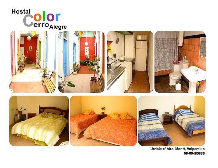 Foto Hostal color cerro alegre
