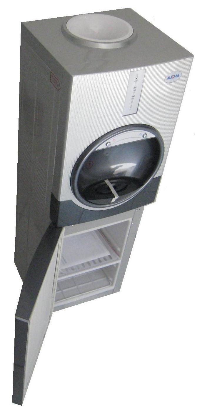 Dispensador de agua con frigobar tecnologia americana for Dispensador agua oficina