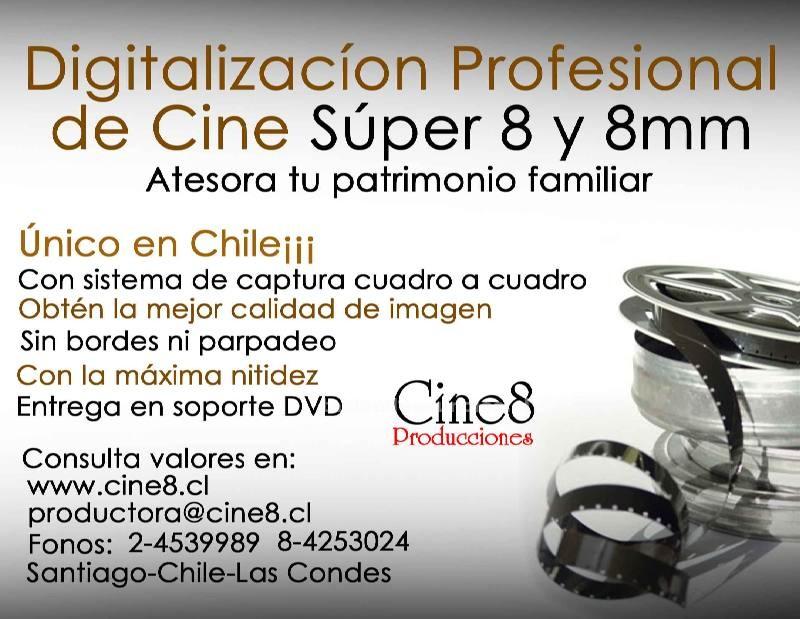 Foto ¡¡traspaso profesional de cine 8mm y super 8 a dvd!!