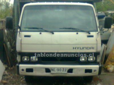 Foto Se vende camion hyundai excelente estado