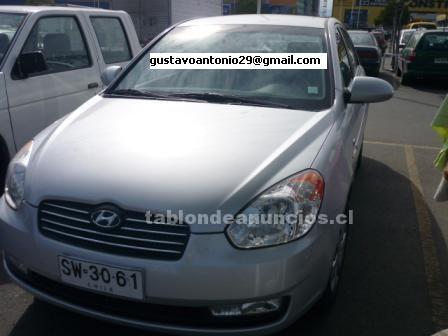 Foto Vendo automóvil 2.100.000 hyundai new accent año 2007