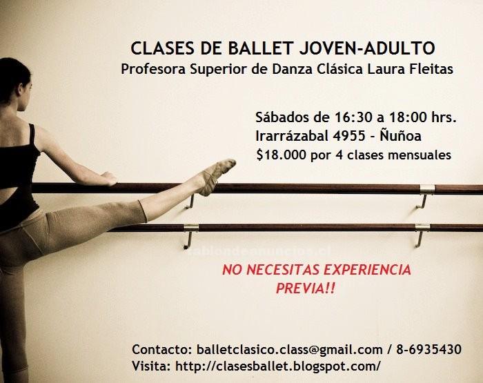 Foto Clases de ballet joven y adulto no requiere experiencia previa!