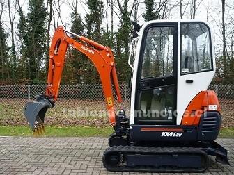 Foto de Mini excavadora kubota kx41-3v hidráulicas