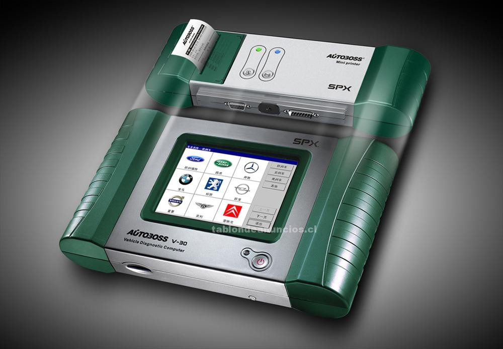 Foto Scanner autoboss v30 mini impresora