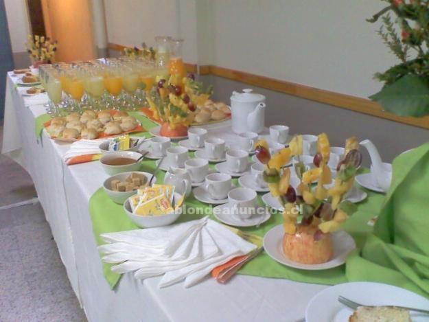 Foto Cóctel, catering, coffee break, arriendo de vajilla y más!
