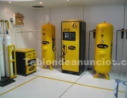 Foto Gases medicinales,producción de aire medicinal,aire medicinal,planta de aire medicinal