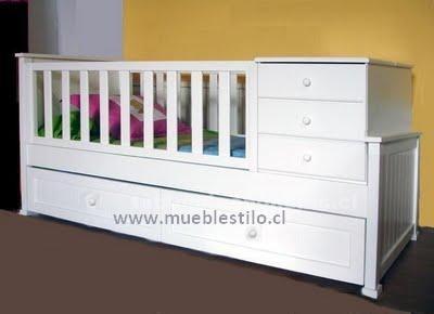 Foto de Cunas funcionales, cómodas, mudadores, muebles de bebé
