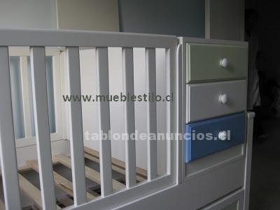 Foto Cunas funcionales, cómodas, mudadores, muebles de bebé