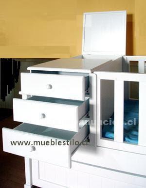 Foto Cunas funcionales, cómodas, mudadores, muebles de bebé Niños y bebes
