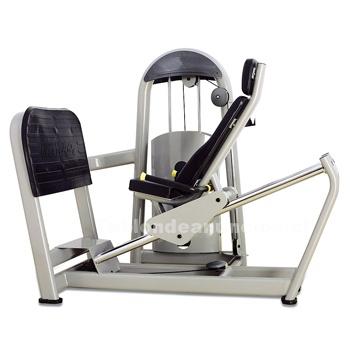 Foto Máquina de ejercicio fuerza, prensa horizontal