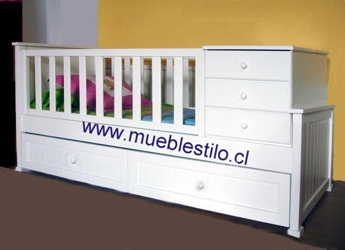 Foto de Cunas de bebe, moniliario infantil, cómodas, a pedido