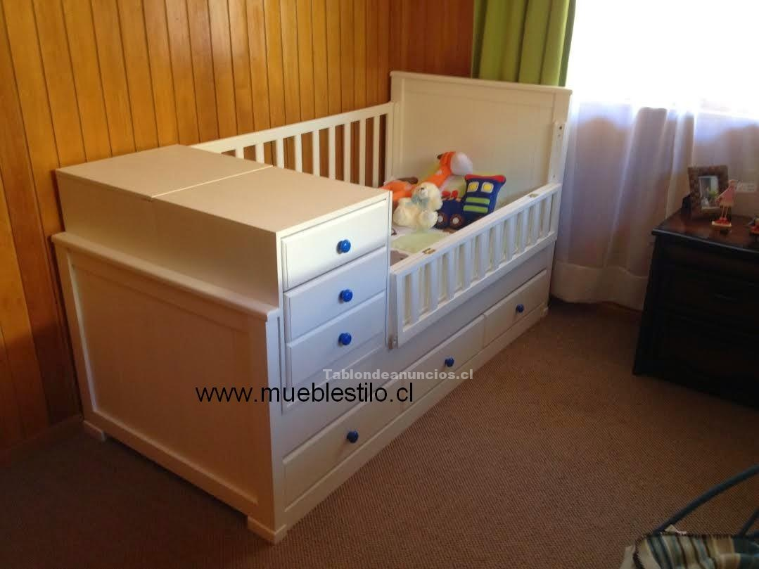 Foto Cunas de bebe, moniliario infantil, cómodas, a pedido Niños y bebes