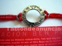 Foto Kabbalah red string pulsera autentico hilo rojo cabala