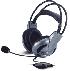 Audífonos genius  con micrófono con vibración de bajos y  control de volumen.